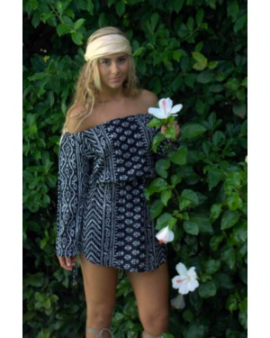 Wailea Off The Shoulder Mini Dress