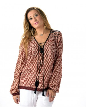 Shipwrecked  Blouse