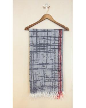 Desert Wander Jacquard Wool Pashmina Scarf