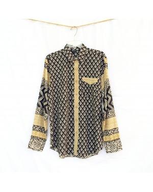 The Classic Cotton Vegetable Dye Long Sleeve Shirt