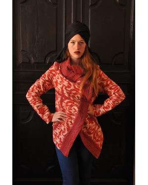 Manhattan Vintage Crossover Gudri Ikat Cotton Jacket