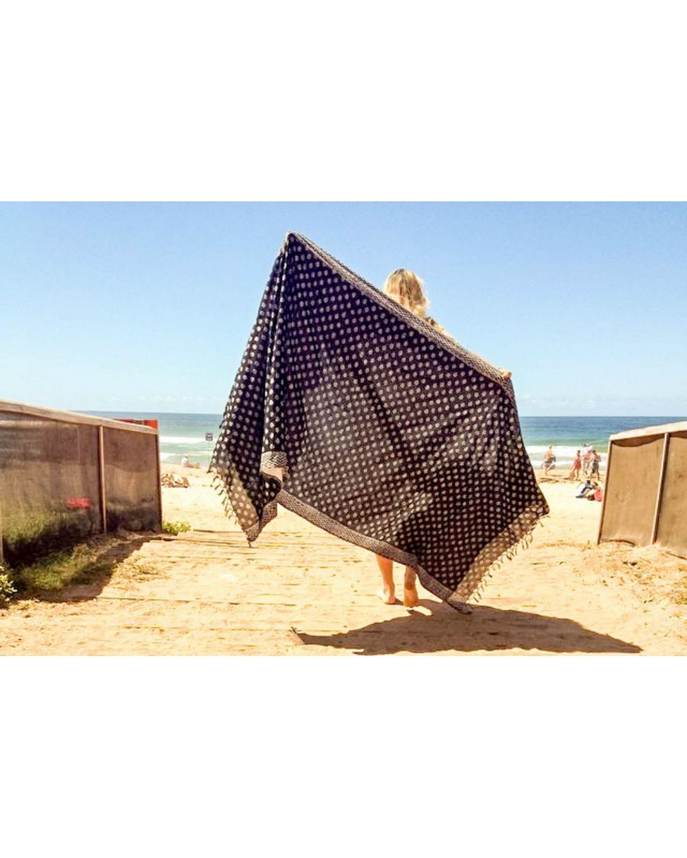 Beach Blanket Date: Beach Towel / Blanket In A Bag