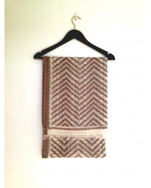 Winter Wonderland Wool Ikat Scarf