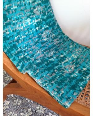 Hamptons Blue Wool Scarf