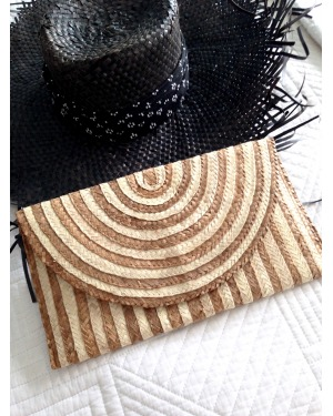 The Bali Clutch Natural