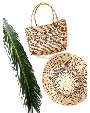 Dayak Mini Beach Basket Bag
