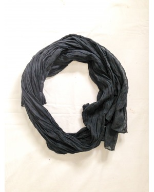 Everyday Cotton Scarf Black