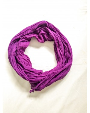 Everyday Cotton Scarf Purple