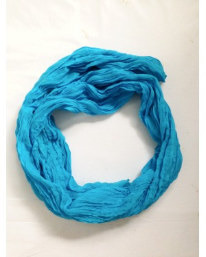 Everyday Cotton Scarf Sky Blue