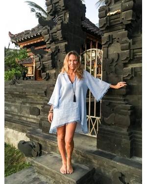 Maryanne Cotton Linen Shirt Dress