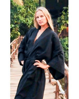 Bamboo Skies Kimono Robe
