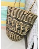 Round Bali Basket Shoulder Bag