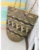 Round Bali Basket Shoulder Bag