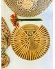 The Gili Bamboo Round Bag