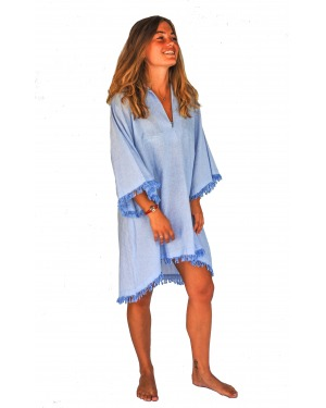 The Weekender  Cotton Linen Shirt Dress