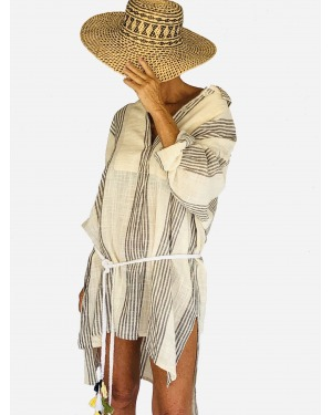 Take It Easy Oversized Shirt Dress