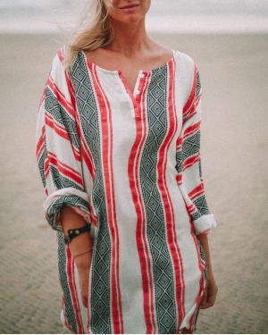 Lounge Days Aztec Print Top